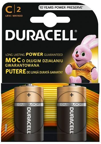 Duracell Basic 1400 K2 R14/2