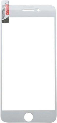 Q sklo 2,5D tvrdené sklo pre Apple iPhone 8+/7+, biela