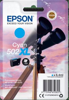 EPSON single 502 XL CYAN