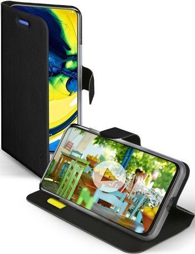 SBS Sense knižkové puzdro pre Samsung Galaxy A90/A80, čierna
