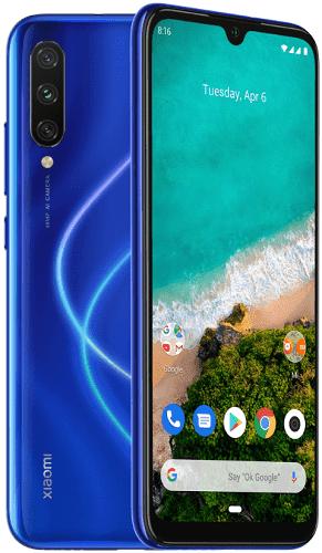 Xiaomi Mi A3 4 GB/128 GB modrý