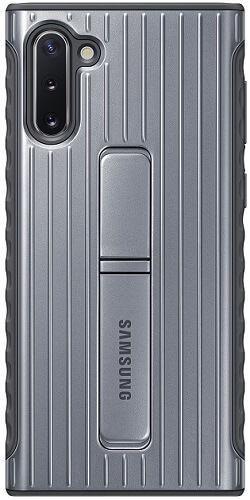 Samsung Protective Standing puzdro pre Samsung Galaxy Note10, strieborná