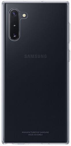 Samsung Clear Cover puzdro pre Samsung Galaxy Note10, transparentná