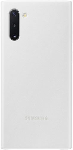 Samsung Leather Cover pre Samsung Galaxy Note10, biela