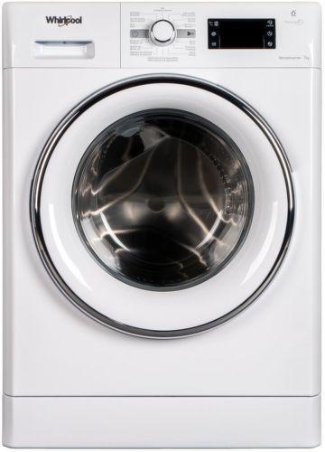 Whirlpool FWG71284WCV CS, biela práčka plnená spredu