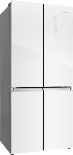 CONCEPT LA8783wh, biela americká chladnička