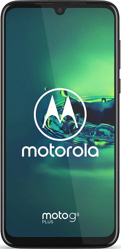 Motorola Moto G8 Plus červený
