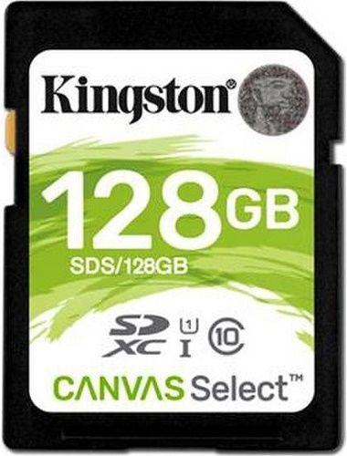 Kingston Canvas Select Plus SDXC 128 GB UHS-I