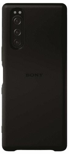 Sony Style Back kryt pre Sony Xperia 5, čierna