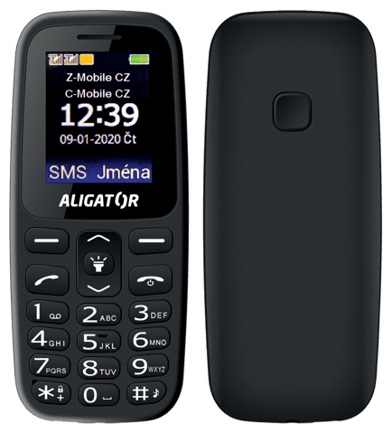 Aligator A220 Senior čierny