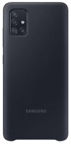 Samsung silikónový kryt pre Samsung Galaxy A51, čierna