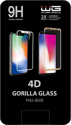 Winner 4D tvrdené sklo pre Apple iPhone 7 Plus/8 Plus, biela