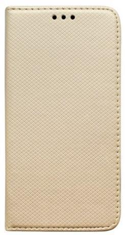 Mobilnet knižkové puzdro pre Samsung Galaxy A71, zlatá
