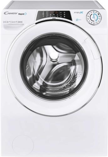 CANDY RO 1486DXHC5/1-S, biela smart práčka plnená spredu