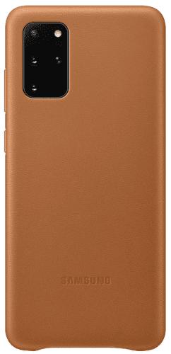 Samsung Leather Cover puzdro pre Samsung Galaxy S20+, hnedá
