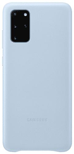 Samsung Leather Cover puzdro pre Samsung Galaxy S20+, modrá