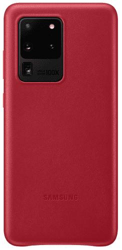 Samsung Leather Cover puzdro pre Samsung Galaxy S20 Ultra, červená