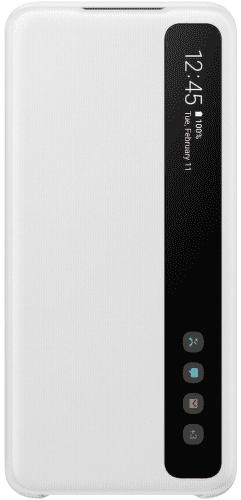 Samsung Clear View Cover pre Samsung Galaxy S20+, biela