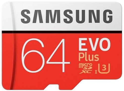 Samsung Micro SDXC 64 GB EVO Plus + SD adaptér