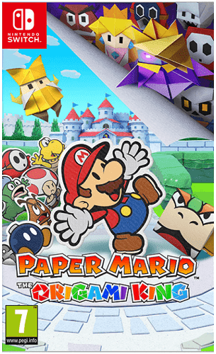 Paper Mario: The Origami King - Nintendo Switch hra