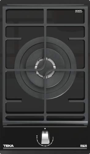 TEKA GZC 31330 XBN, čierna plynová varná doska