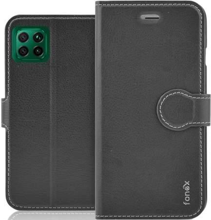 Fonex knižkové puzdro pre Huawei P40 Lite, čierna