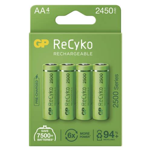 GP ReCyko HR06 (AA) 2450 mAh, 4 ks