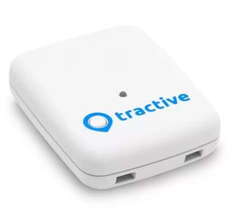 Tractive Tracker Classic GPS lokátor pre domáce zvieratá biela