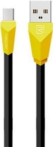 Remax Alien kábel USB/Micro USB 1m, čierno-žltá