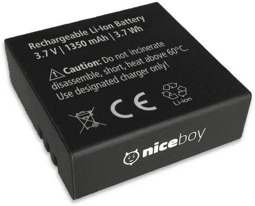 Baterie 1350 mAh pro Niceboy VEGA X PRO a