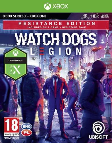Watch Dogs Legion Resistance Edition - Xbox One/Series hra