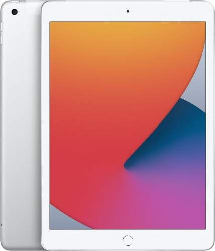 Apple iPad 2020 128GB Wi-Fi + Cellular MYMM2FD/A strieborný