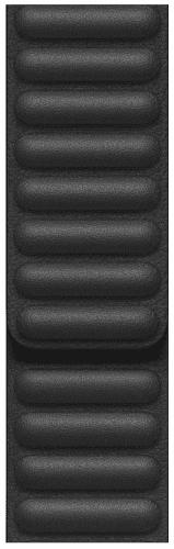 Apple Watch 44 mm kožený remienok čierny M/L