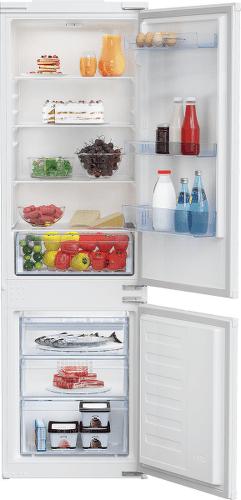 Beko BCSA285K4SN vstavaná kombinovaná chladnička