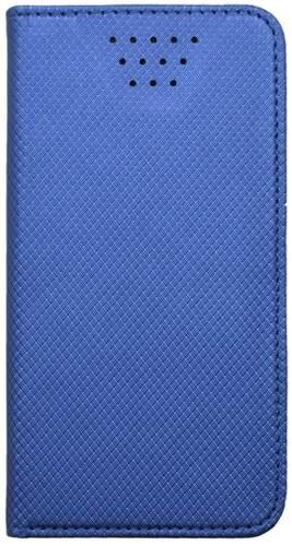 """Mobilnet knižkové puzdro 5,5-5,7"""" modrá"""