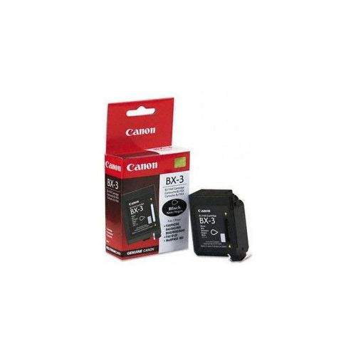 CANON BX-3 BLACK Cartridge, BL SEC
