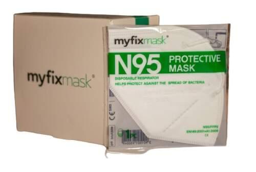Myfixmask FFP2 WH respirátor 20ks.1