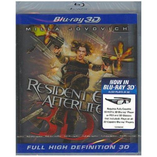 BD F - Resident Evil: Afterlife 3D stellbook