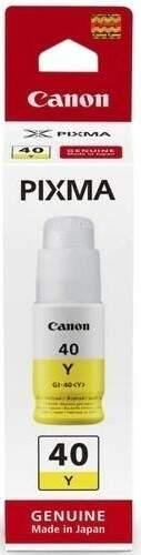 Canon BJ INK GI-40 Y (3402C001) žltá