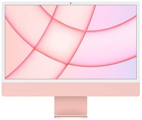 "Apple iMac 24"" (2021) 4,5K Retina M1 / 8-jadrové GPU / 8 GB / 512 GB MGPN3SL/A ružový"