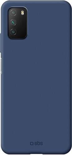 SBS Sensity puzdro pre Xiaomi Redmi 9T/Poco M3 modrá