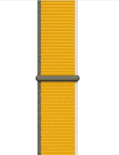 Apple Watch 44 mm Sport Loop športový remienok Sunflower