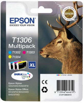 EPSON T13064020 C/M/Y Multipack XL blister