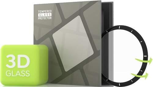 Tempered Glass Protector 3D tvrdené sklo pre Garmin Vivoactive 4 čierna