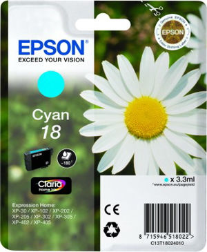 EPSON T18024020 CYAN cartridge Blister