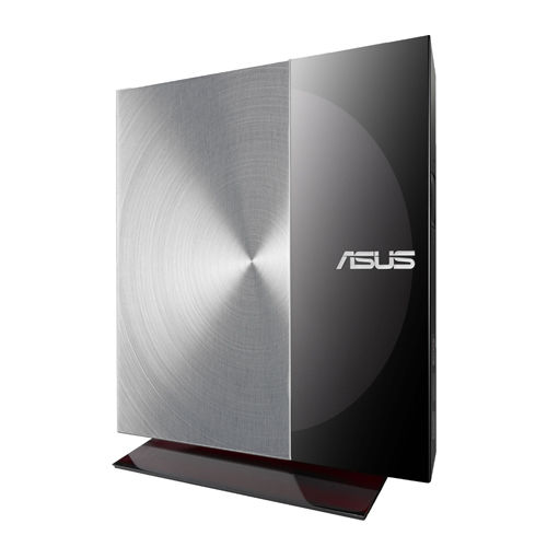 ASUS  External Slim SDRW-08D3S-U/BLK/G/AS Retail, čierno-strieborná