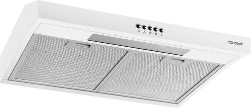 Concept OPP1260wh, biely podskrinkový digestor