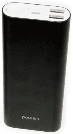 POWER+ powerbanka 10 400 mAh, čierna