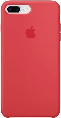 Apple silikónové puzdro pre iPhone 8+/7+, červená
