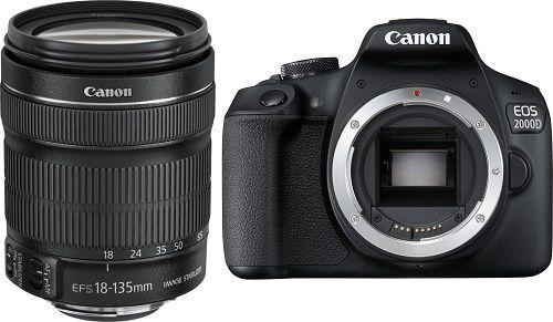 CANON 2000D + 18-135 IS, Zrkadlovka